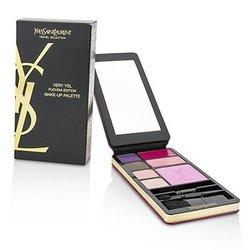 Yves Saint Laurent Very YSL Makeup Palette (Fuchsia Edition) (1x Blush, 2x Lipcolour, 4x Eyeshadow, 3x Applicator)  12g/0.43oz
