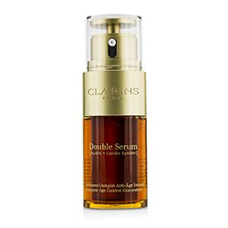 Clarins Double Serum (Hydric + Lipidic System) Complete Age Control Concentrate  30ml/1oz