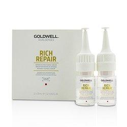 Goldwell Dual Senses Rich Repair Intensive Restoring Serum (Regeneration For Damaged Hair)  12x18ml/0.6oz