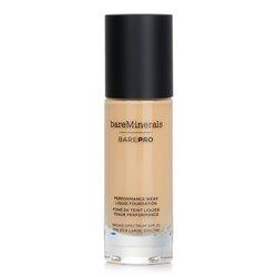 BareMinerals BarePro Performance Wear Liquid Foundation SPF20 - # 08 Golden Ivory  30ml/1oz