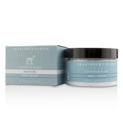 Crabtree & Evelyn Goatmilk & Oat Soothing Body Cream  250ml/8.64oz