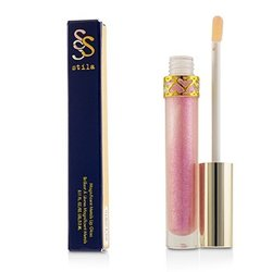 Stila Magnificent Metals Lip Gloss - # Pink Sapphire  3.3ml/0.11oz