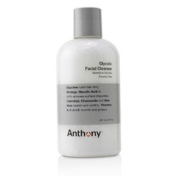 Anthony Logistics For Men Glycolic Facial Cleanser - For Normal/ Oily Skin (Unboxed)  237ml/8oz