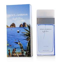 Dolce & Gabbana Light Blue Love In Capri Eau De Toilette Spray  50ml/1.7oz