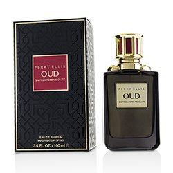 Perry Ellis Oud Saffron Rose Absolute Eau De Parfum Spray  100ml/3.4oz
