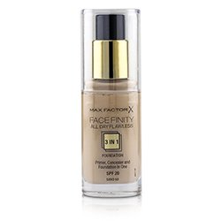 Max Factor Face Finity All Day Flawless 3 in 1 Foundation SPF20 - #60 Sand  30ml/1oz