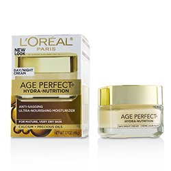 L'Oreal Age Perfect Hydra-Nutrition Anti-Sagging Ultra-Nourishing Moisturizer - For Mature, Very Dry Skin  48g/1.7oz