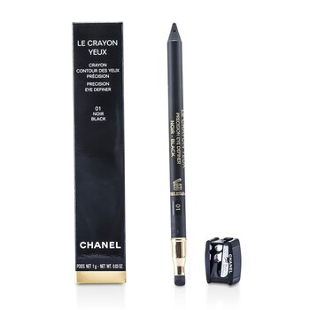 Chanel Lápis Le Crayon Yeux - No. 01 Noir  1g/0.03oz