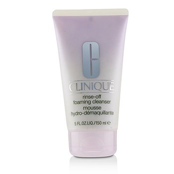 Clinique Rinse Off Mata Make Up Solvent  Pembersih Muka Berbuih Jenis Bila Air  150ml/5oz