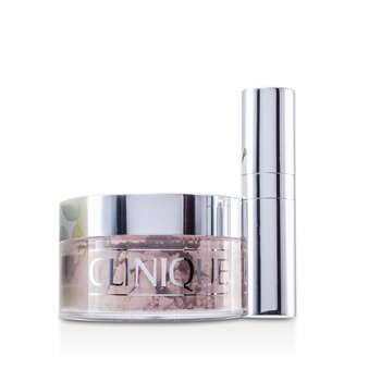 Clinique Sypký pudr Blended Face Powder + štětec - č. 02 Transparency; s přirážkou vzhledem k omezené dostupnosti produktu  35g/1.2oz