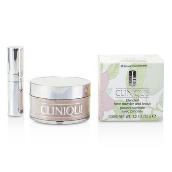 Clinique Pó facial Blended Face Powder + Pincel - No. 08 Transparency Neutral  35g/1.2oz