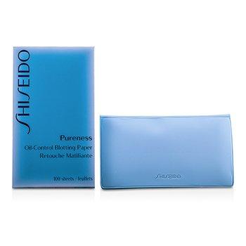 שיסיידו Pureness נייר סופג לאיזון רמת השמן בעור  100sheets