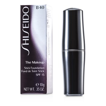 Shiseido The Maquillaje Stick Base de Maquillaje SPF 15 - B40 Natural Fair Beige  10g/0.35oz