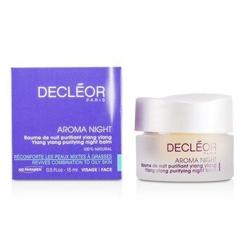 Decleor Bálsamo noturno Aroma Night Ylang Ylang Purifying Night Balm  15ml/0.5oz