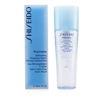 Shiseido Pureness Refreshing Cleansing Water Oil-Free  150ml/5oz