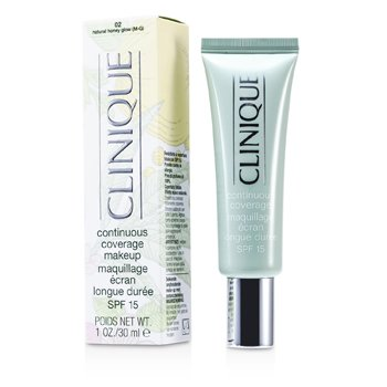 Clinique Continuous Coverage Spf15 - Maquillaje Cobertura Continua No. 02 Natural Honey Glow  30ml/1oz