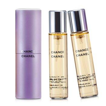 Chanel Chance Twist & Spray Тоалетна Вода  3x20ml/0.7oz