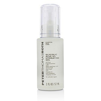 Peter Thomas Roth Glycolic Acid 10%  Gel hidratante  57ml/2oz