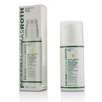 Peter Thomas Roth Max Sheer Hidrata todo el dia Defense Lotion SPF 30  50g/1.7oz