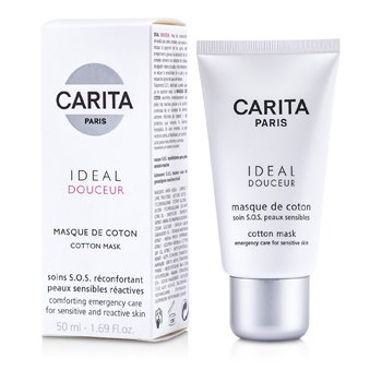 Carita Ideal Douceur Cotton Mask (Sensitive Skin)  50ml/1.69oz