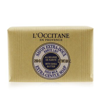 L'Occitane Shea Butter Extra Ніжне Мило - Молоко  250g/8.8oz