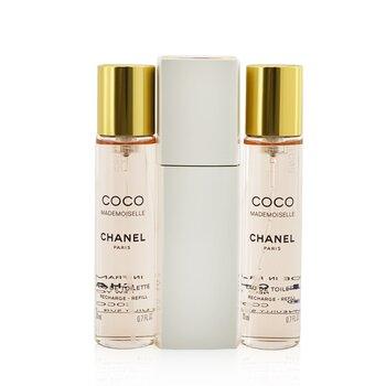 Chanel Coco Mademoiselle Putar & Semprot Eau De Toilette  3x20ml/0.7oz