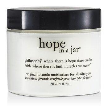 פילוסופי Hope In a Jar קרם לחות ( לכל סוגי העור)  56.7g/2oz