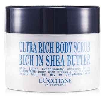 L'Occitane Shea Manteiga Ultra Rich corpoScrub  200ml/7oz