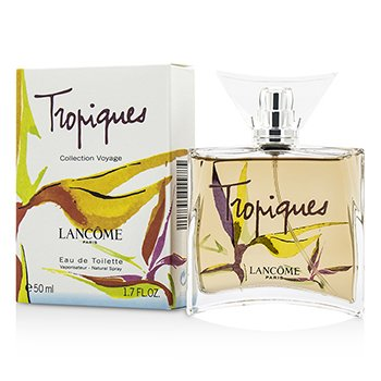 Lancome Tropiques Eau De Toilette Spray (Collection Voyage Limited Edition)  50ml/1.7oz
