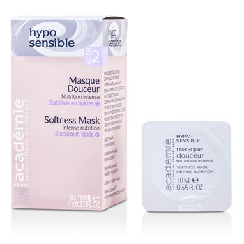 Academie Hypo-Sensible Softness Mask Intense Nutrition - Máscara Nutrición Intensa  8x10ml