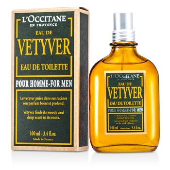 L'Occitane Vetyver Eau De Toilette Spray  100ml/3.4oz
