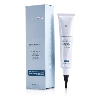 修麗可  視黃醇0.5護膚晚霜  30ml/1oz