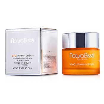 Natura Bisse C+C Vitamin Creme SPF 10 ( para Pele seca )  75ml/2.5oz