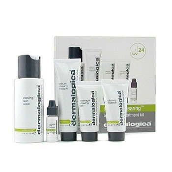 Dermalogica MediBac Clearing Adult Acne Treatment Kit  5pcs