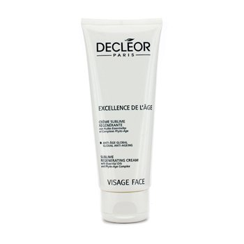 Decleor Excellence De L'Age Sublime Regenerating Face & Neck Cream (Salon Size)  100ml/3.3oz