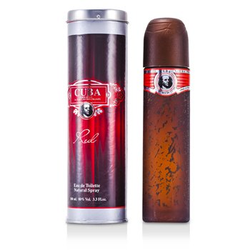 Cuba Cuba Red Agua de Colonia Vaporizador  100ml/3.4oz