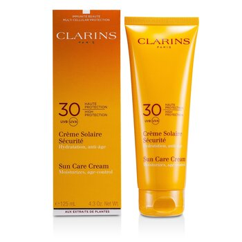 Clarins Sun Care Cream High Protection SPF30 (For Sun-Sensitive Skin)  125ml/4.4oz