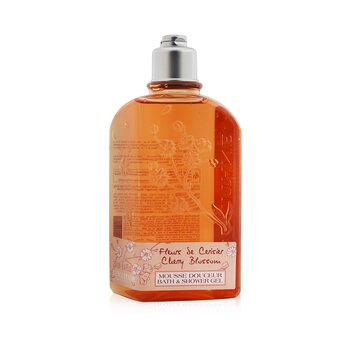 L'Occitane Cherry Blossom Bath & Shower Gel  250ml/8.4oz