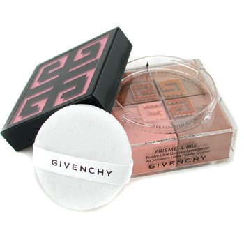 Givenchy Paleta czterech pudrów sypkich Prisme Libre Loose Powder Quartet Air Sensation - #04 Tender Sun  20g/0.7oz