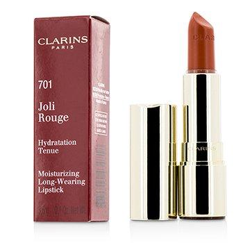 Clarins Joli Rouge (Pintalabios Hidratante de Larga Duración) - # 701 Orange Fizz  3.5g/0.12oz