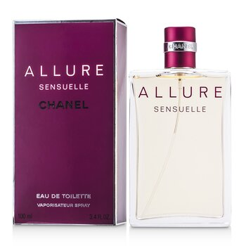 Chanel Allure Sensuelle Eau De Toilette Semprot  100ml/3.4oz