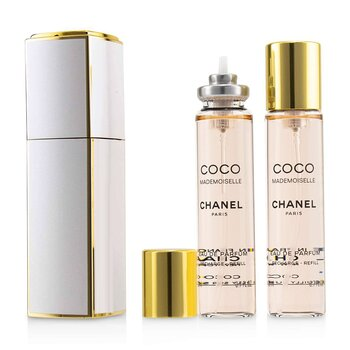 Chanel Coco Mademoiselle Putar & Semprot Eau De Parfum  3x20ml/0.7oz