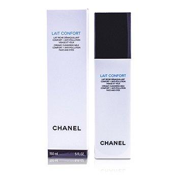 Chanel Lait Confort Creamy Cleansing Milk Face & Eyes  150ml/5oz