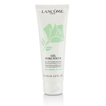 Lancome Gel Pure Focus Deep Purifying Cleanser (Oily Skin)  125ml/4.2oz
