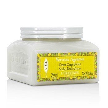 L'Occitane Citrus Verbena Sorbet Body Cream  250ml/8.8oz