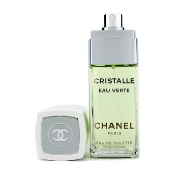 Chanel Cristalle Eau Verte Eau De Toilette Concentree Semprot  100ml/3.4oz