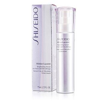Shiseido White Lucency  სრულყოფილი გამაცისკროვნებელი გამაღიავებელი შრატი  კისრის და დეკოლტესთვის  75ml/2.5oz