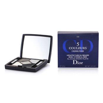 Christian Dior 5 Color Designer All In One Artistry  Paleti - No. 008 Dumanlı Tasarım  4.4g/0.15oz