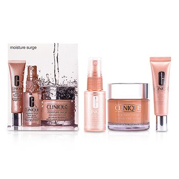 Clinique Set Fuente Hidratante : Crema 75ml + Gel de Ojos 15ml + Spray Facial 30ml  3pcs