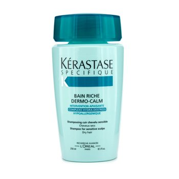 Kerastase Kerastase Dermo-Calm Bain Riche Shampoo (Sensitive Scalps & Dry Hair)  250ml/8.4oz